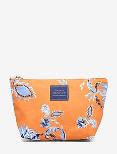 D1. MARINE PAISLEY MAKE UP BAG - AMBERGLOW