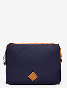 D1. HOUSE OF GANT LAPTOP SLEEVE - data vesker - marine
