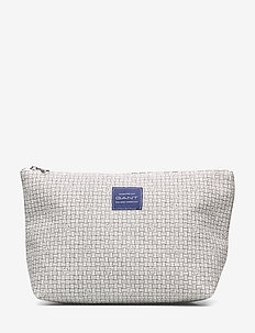 D1. GANT SIGNATURE WASHBAG - EGGSHELL