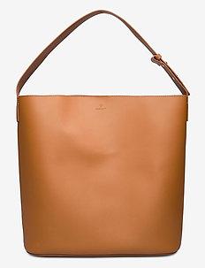 D1.LEATHER BUCKET BAG - bucket bags - argan oil
