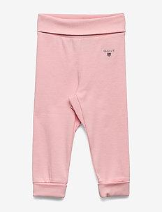 ORGANIC GANT PANTS - trousers - strawberry cream