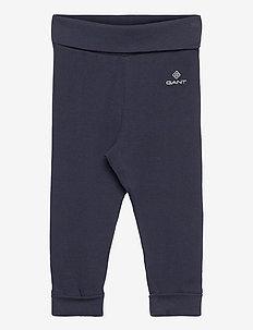 ORGANIC GANT LOCK-UP PANTS - bukser - evening blue