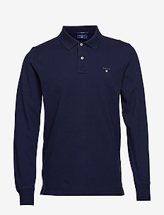 THE ORIGINAL PIQUE  LS RUGGER - langermede - evening blue