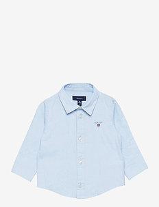 ARCHIVE OXFORD B.D. SHIRT - overhemden - capri blue