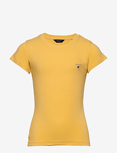 FITTED ORIGINAL SS T-SHIRT - short-sleeved - mimosa yellow