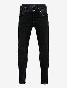 GANT SKINNY JEANS - jeans - black raw