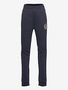 D1. MONOGRAM SWEAT PANTS - sweatpants - evening blue