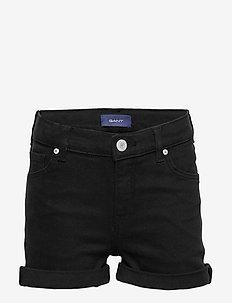 D2. TWILL SHORTS - shorts - black