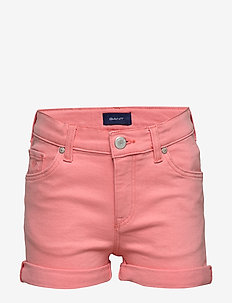 D2. TWILL SHORTS - shorts - strawberry pink
