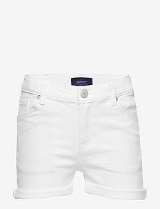 D2. TWILL SHORTS - shorts - white