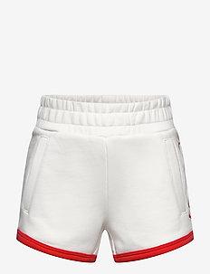 D1. GANT SCRIPT SWEAT SHORTS - shorts - eggshell