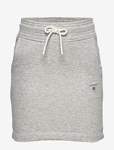 THE ORIGINAL SWEAT SKIRT - skirts - light grey melange