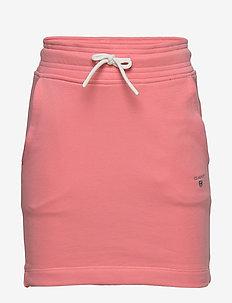THE ORIGINAL SWEAT SKIRT - skirts - strawberry pink