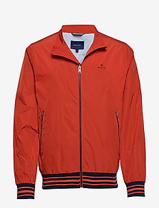 D1. THE SHIELD JACKET - kurtki bomber - blood orange