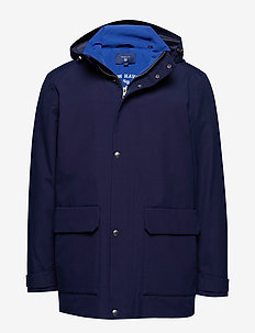 O1. THE ROUGH WEATHER SLICKER - DUSK BLUE