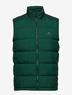 O1. THE PANEL DOWN VEST - IVY GREEN