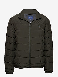 O1. THE CLOUD JACKET - COUNTRY GREEN