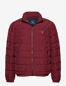O1. THE CLOUD JACKET - PORT RED