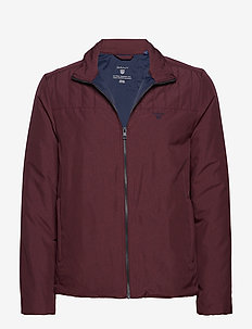 O2. THE PADDED JACKET - MAHOGNY RED