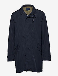 O1. THE WIND PARKA - EVENING BLUE