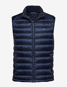 D.1 THE LIGHT DOWN GILET - MARINE
