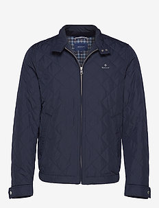 D1. THE QUILTED WINDCHEATER - EVENING BLUE