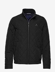 D1. THE QUILTED WINDCHEATER - tikkitakit - black