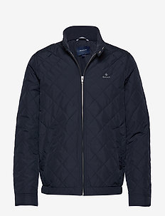 D1. THE QUILTED WINDCHEATER - tikkitakit - evening blue