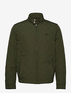 D1. THE QUILTED WINDCHEATER - FOUR LEAF CLOVER
