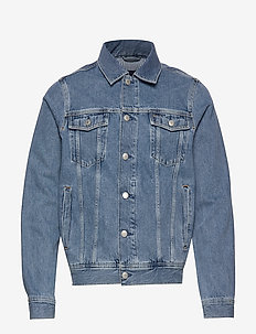 D2. THE DENIM JACKET - farkkutakit - light blue