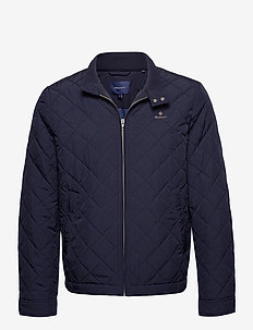 QUILTED WINDCHEATER - quilted jackets - evening blue