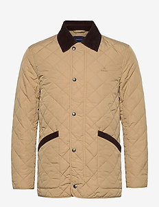D1. QUILTED BARN JACKET - quilted jackets - dark khaki