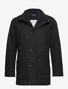 D1. THE DOUBLE DECKER - parka's - black