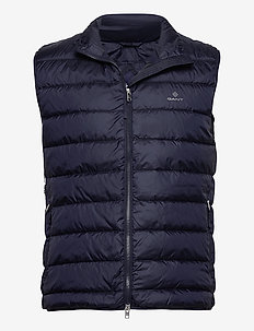 LIGHT DOWN GILET - vesten - evening blue