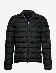 THE LIGHT DOWN JACKET - padded jackets - black