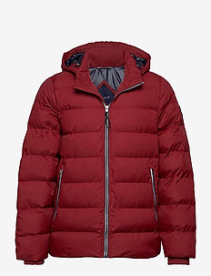 D1. THE ACTIVE CLOUD JACKET - toppatakit - mahogny red