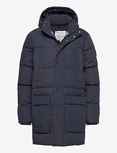 D2. THE LONG ALTA DOWN JACKET - forede jakker - evening blue