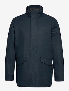 D1. GANT DOUBLE JACKET - vindjakker - navy