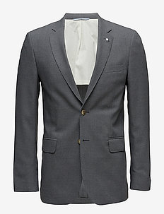 THE SLIM CLUB BLAZER - single breasted blazers - dark grey melange