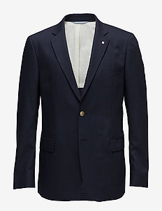 THE SLIM CLUB BLAZER - MARINE