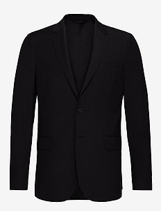 THE TAILORED TRAVELERS SUIT JKT S - single breasted blazers - black
