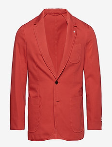 O2. THE SUNBLEACHED SPORTS COAT - single breasted blazers - mineral red