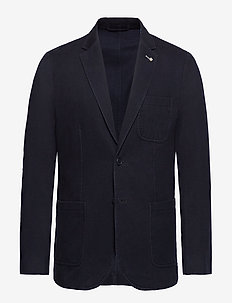 D1. THE CAVALRY TWILL BLAZER - single breasted blazers - marine