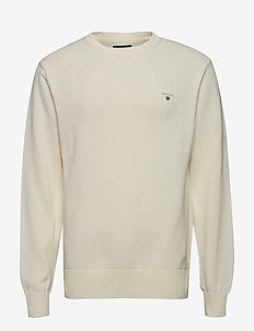 CASUAL COTTON CREW - CREAM