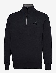 CLASSIC COTTON HALF ZIP - half zip jumpers - evening blue