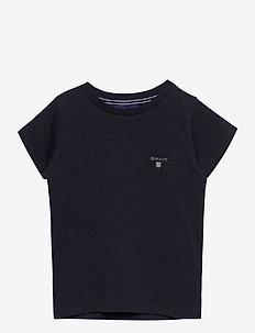 THE ORIGINAL SS T-SHIRT - short-sleeved - evening blue