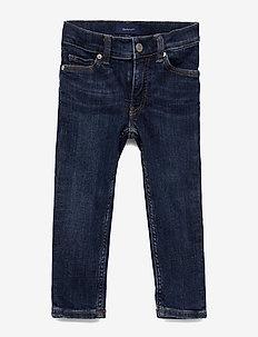 D1. DENIM JEAN - jeans - mid blue worn in