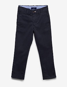CHINO PANTS - trousers - evening blue