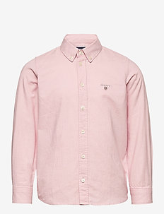 ARCHIVE OXFORD B.D. SHIRT - chemises - preppy pink