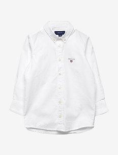 ARCHIVE OXFORD B.D. SHIRT - shirts - white